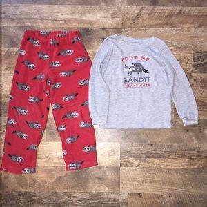 Carters pajama set size 5
